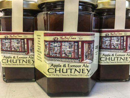 Brendon Hill Crafts Apple & Exmoor Ale Chutney
