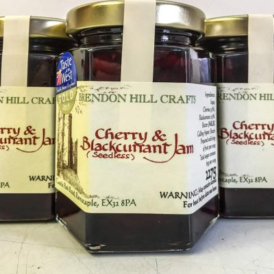 Brendon Hill Crafts Cherry & Blackcurrant Jam
