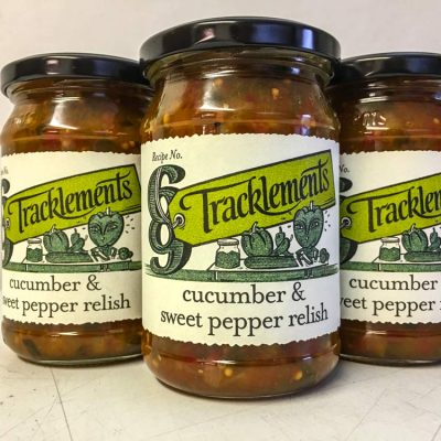 Tracklements Cucumber and Sweet pepper Relish