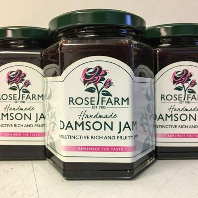 Rose Farm Damson jam