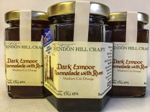 Brendon Hill Crafts Dark Exmoor Marmalade with Rum