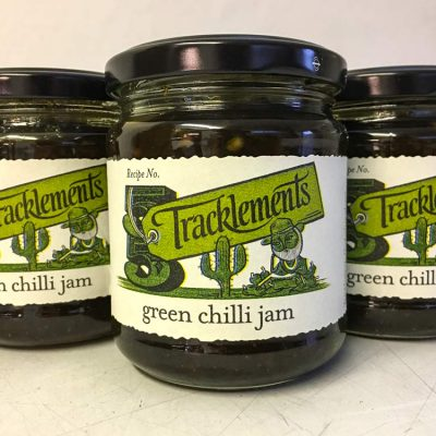 Tracklements Green Chilli Jam