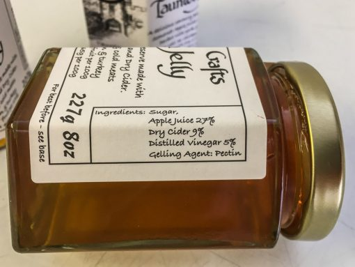 Brendon Hill Crafts Taunton Jelly Label