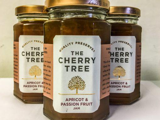 The Cherry Tree Apricot & Passion Fruit Jam