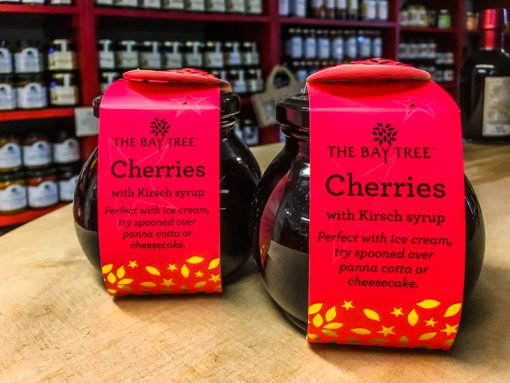 The Bay Tree Cherries with Kirsch syrup