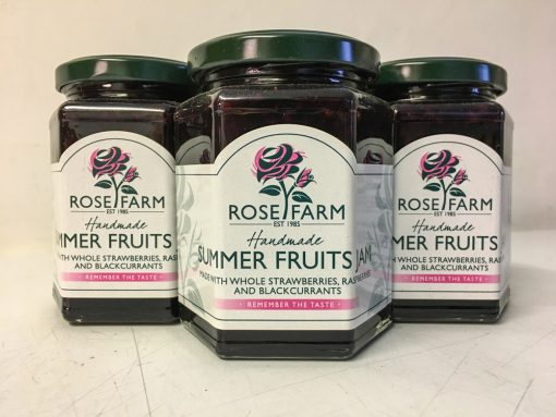 Rose Farm Summer Fruits Jam
