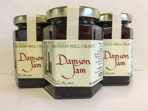 Brendon Hill Crafts Damson Jam
