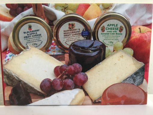 Display Set Fruit Cheese