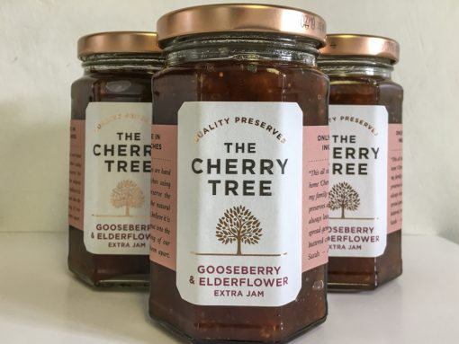 The Cherry Tree Gooseberry and Elderflower Jam