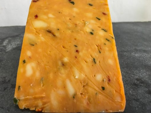 Tomato and Spring Onion Cheddar