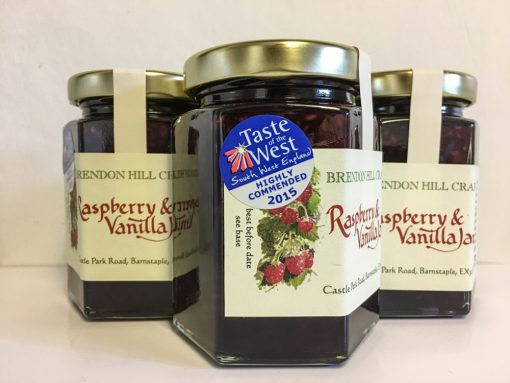 Brendon Hill Crafts Raspberry and Vanilla Jam 2