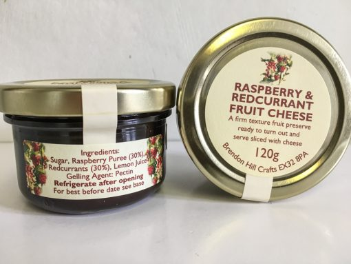 Brendon Hill Crafts Raspberry and Redcurrant Fruit Cheese