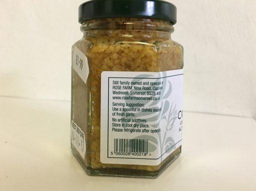 Cooks Garlic label