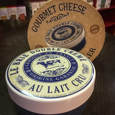 Gourmet Cheese Brie Baker Blue