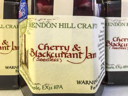 Brendon Hill Crafts Cherry & Blackcurrant Jam