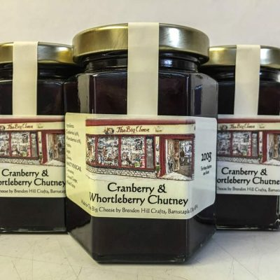 Brendon Hill Crafts Cranberry & Whortleberry Chutney