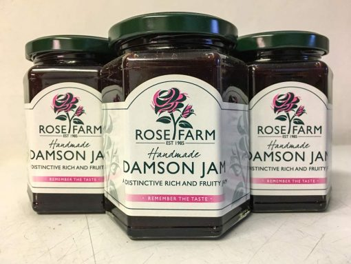 Rose Farm Damson jam