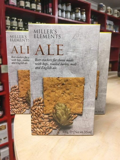 Millers Elements Ale Crackers