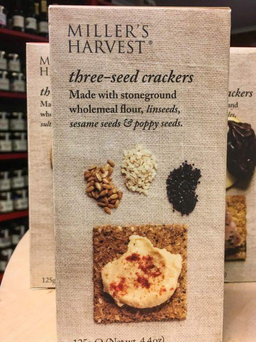 Millers Harvest Three Seed Crackers