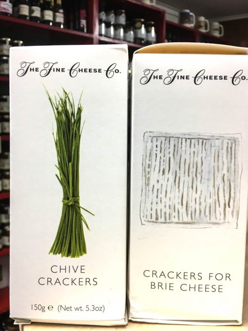 The Fine Cheese Co Chive Crackers 1
