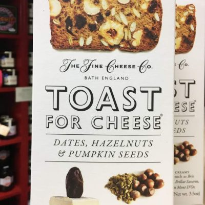 The Fine Cheese Co. Toast for Cheese Date Hazelnuts & Pumpkin seeds