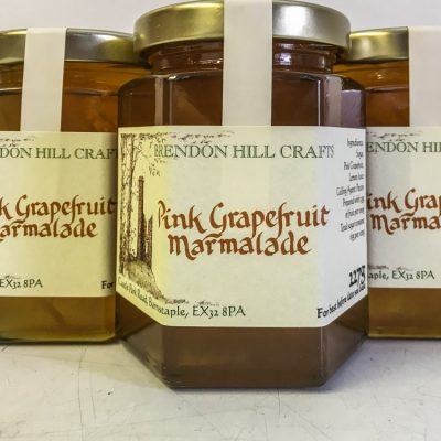 Brendon Hill Crafts Pink Grapefruit Marmalade