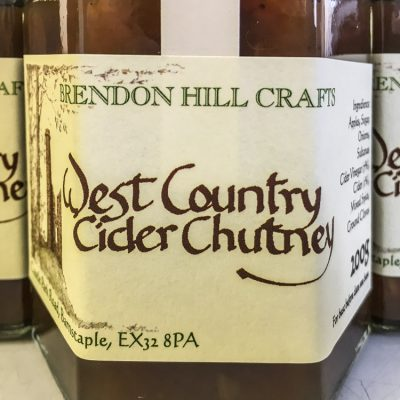 Brendon Hill Crafts West Country Cider Chutney
