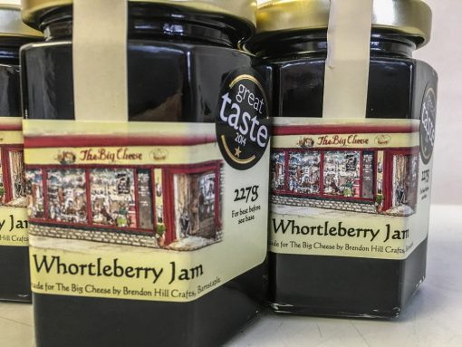 Brendon Hill Crafts Whortleberry Jam