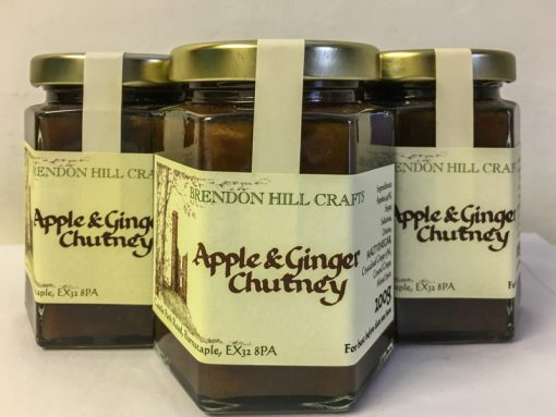 Brendon Hill Crafts Apple & Ginger Chutney
