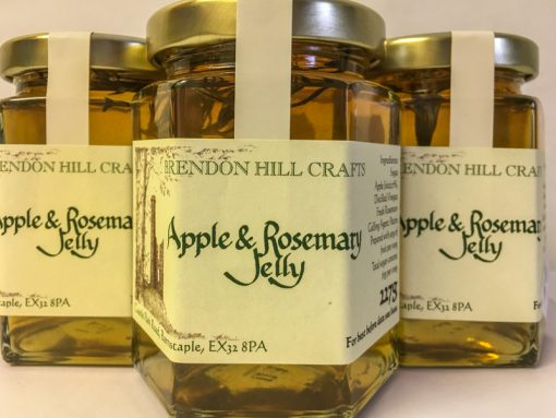Brendon Hill Crafts Apple & Rosemary Jelly