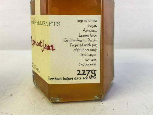 Brendon Hill Crafts Apricot Jam Label