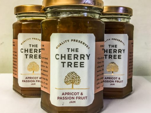 The Cherry Tree Apricot & Passion Fruit Jam