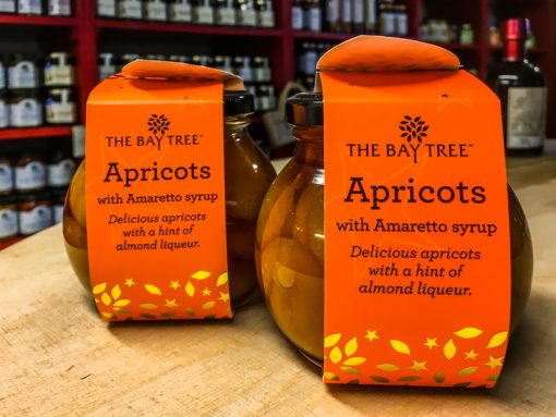 The Bay Tree Apricots in Amaretto syrup