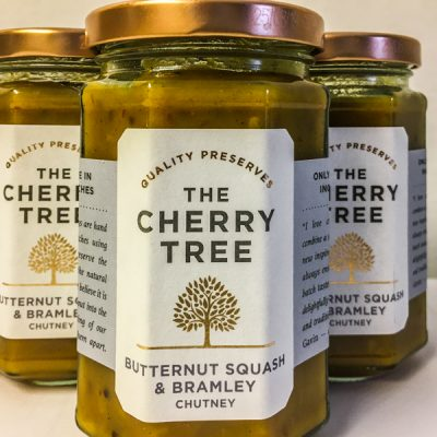 The Cherry Tree Butternut Squash & Bramley Apple Chutney