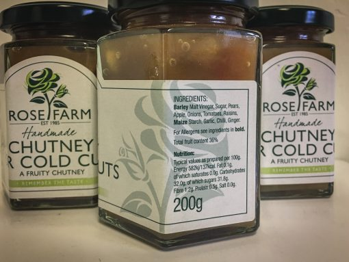 Chutney for Cold Meats Label