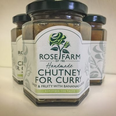 Rose Farm Chutney for Curry