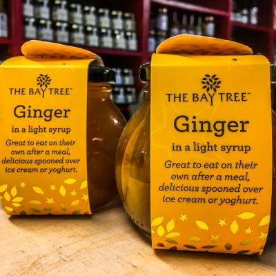 The Bay Tree Ginger in syrup