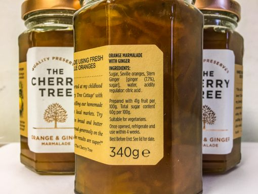 The Cherry Tree Orange & Ginger Marmalade