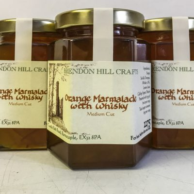 Brendon Hill Crafts Orange Marmalade with Whisky