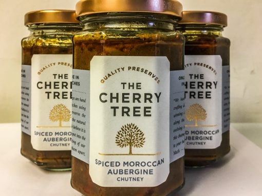 The Cherry Tree Spiced Moroccan Aubergine Chutney