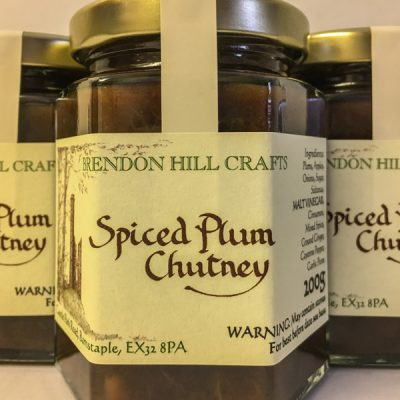 Brendon Hill Crafts Spiced Plum Chutney