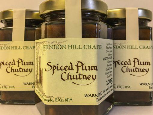 Brendon Hill Crafts Spiced Plum Chutney