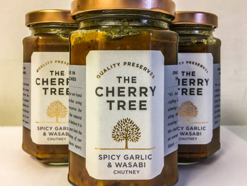 The Cherry Tree Spicy Garlic & Wasabi
