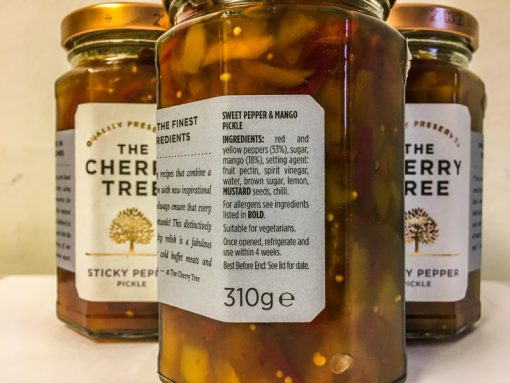 The Cherry Tree Sticky Pepper Pickle