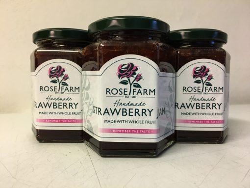 Rose Farm Strawberry Jam