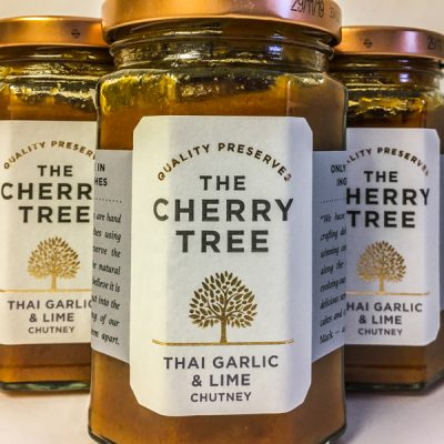 The Cherry Tree Thai Garlic & Lime Chutney