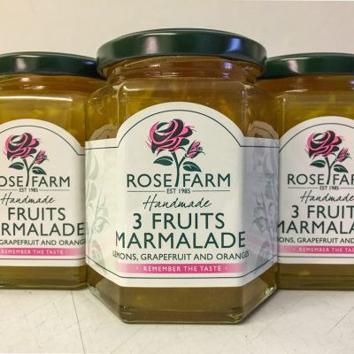 Rose Farm Three Fruits Marmalade