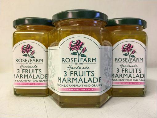 Rose Farm Three Fruits Marmalade