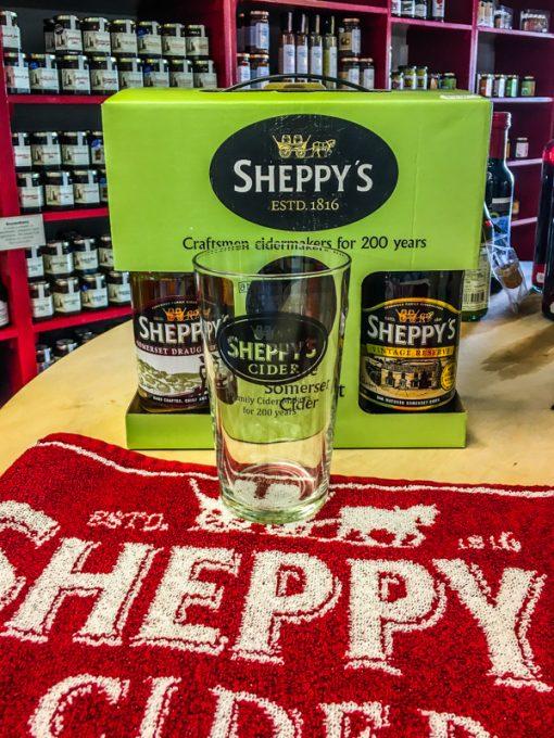 Sheppys Cider Gift set