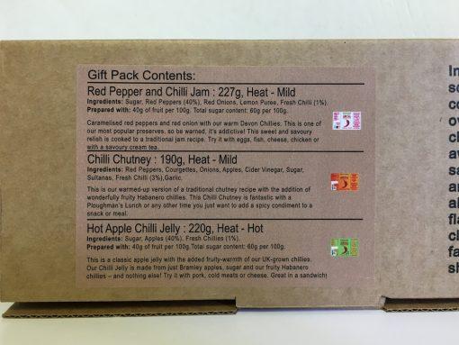 South Devon Chilli Farm 3 Jar set 3